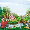 Детская сказка Музыкальный лес