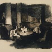 Выставка «Сцены частной жизни. Интерьер в графике XX века» фотографии
