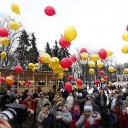 День защитника Отечества в парках Москвы 2016 фотографии