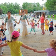 День любви, семьи и верности в Лианозовском парке 2017 фотографии