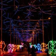 Новогодние праздники в парке «Сокольники» 2018 фотографии