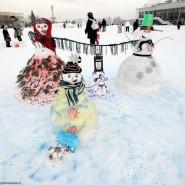 Арт-битва снеговиков 2016 фотографии