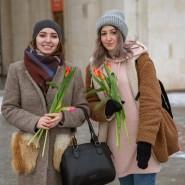 8 марта в Парке Горького 2021 фотографии