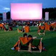 Кинотеатр под открытым небом в «Сокольниках» фотографии