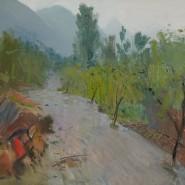 Выставка «Бато Дугаржапов. Ветер пленэра» фотографии