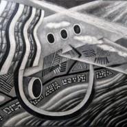 Выставка «Черное+Белое/ЗВУК+ЗНАК» фотографии