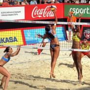 Этап Мирового тура по пляжному волейболу 2018 фотографии