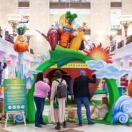 Интерактивная выставка «Здоровая еда супергероев» в ЦДМ на Лубянке фотографии