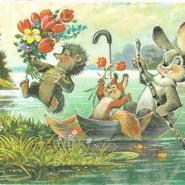 Выставка «Традиции весенних праздников в отечественных открытках» фотографии