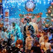 Новогодние праздники впарке аттракционов Happylon в ТРК VEGAS фотографии