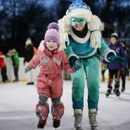 Каток в Гончаровском парке 2020-2021 фотографии