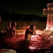 Крещенские купания в «Сокольниках» фотографии