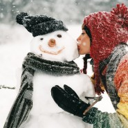 Празднования начала зимы в парке «Сокольники» фотографии