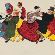 Выставка «Афишемания. Французская реклама конца XIX — начала XX века» фотографии