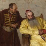 Выставка «Картины русской истории» фотографии
