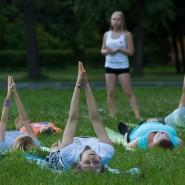 Йога-фитнес на ВДНХ фотографии