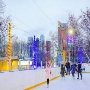 «City каток» в парке «Красная Пресня» 2020-2021 фотографии