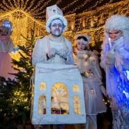Рождество в парках Москвы 2018 фотографии