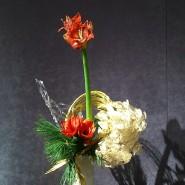 Выставка «Мимолётная красота природы в композициях икебана. Зима» фотографии