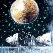 Константин Батынков. Космос 4. 2021. Холст, акрил