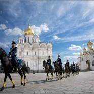 Развод конных и пеших караулов Президентского полка 2021 фотографии