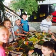 Мастер-классы для детей в ресторанах «Грабли» фотографии