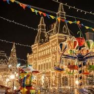 Автобусная экскурсия «Огни новогодней Москвы» фотографии