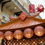 Китайский Новый год в ГУМе 2018 фотографии
