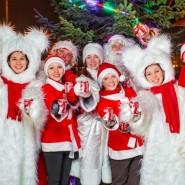 Рождественский Караван Coca-Cola в «Кузьминках» 2017 фотографии