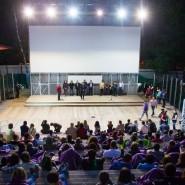 Летний кинотеатр в парке «Сокольники» 2021 фотографии