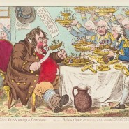Выставка «Анатомия смеха. Английская карикатура XVIII–первой трети XIX века» фотографии