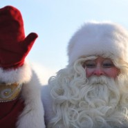 Путешествие Деда Мороза по округам Москвы 2015 фотографии