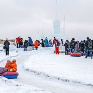 Ледяная горка на Поклонной горе 2016 фотографии