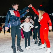 «Live!Каток» в Воронцовском парке 2020-2021 фотографии