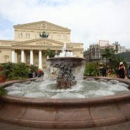 Открытие сезона фонтанов в Москве 2017 фотографии