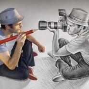 Выставка 3D иллюзий «Карандаш против камеры» фотографии