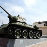 День Победы в музее танка Т-34 2019 фотографии