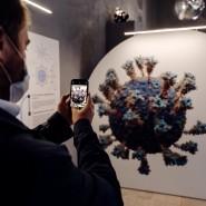 Выставка «Жизнь с вирусами» фотографии