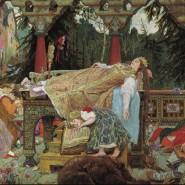 Выставка «Спящая царевна» В.М. Васнецова. История одного шедевра» фотографии