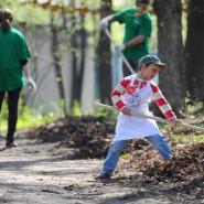 Субботники парках Москвы 2018 фотографии