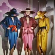 Выставка «Блестящая эпоха. Итальянская мода 80-х» фотографии