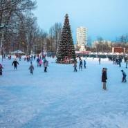 Каток в парке «Митино» 2020-2021 фотографии