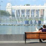 День города в Парке Горького и МУЗЕОНЕ 2016 фотографии