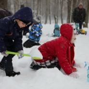 Занятия в Школе снежных искусств фотографии
