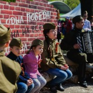 День Победы в Перовском парке 2016 фотографии