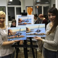 Мастер-классы по масляной живописи фотографии