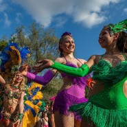 Бразильский карнавал в Измайловском парке 2017 фотографии