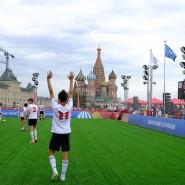 Парк футбола ЧМ-2018 на Красной площади фотографии