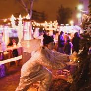 Новогодняя ночь 2016 в саду «Эрмитаж» фотографии