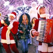Фестиваль «Путешествие в Рождество» в парках Москвы 2018/19 фотографии
